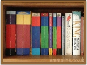 Harry Potter books- find out more about me