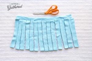 make Hoooked yarn from a tshirt