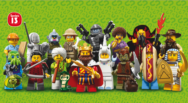 Lego mini figures series 13