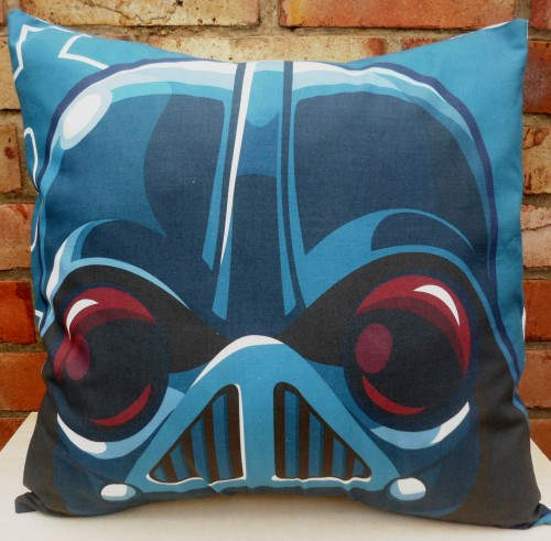 Star Wars cushion in the style of Angry Birds handmade