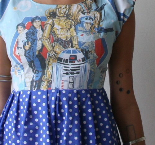 Handmade Star Wars dress by rustycuts on Etsy