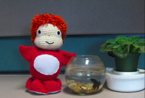 The best ponyo patterns - crocheted amigurumi doll