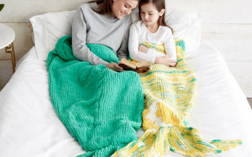 Knit your own mermaid tail with this free pattern