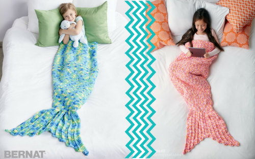 Free mermaid tail knitting patterns