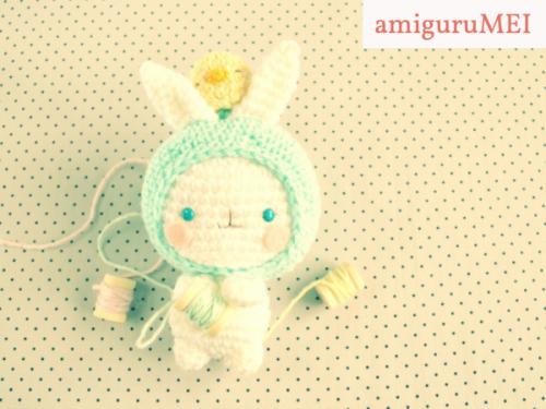 Crochet bunny pattern Easter - free