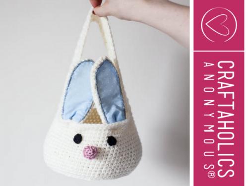 Crochet bunny Easter pattern